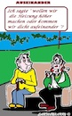Cartoon: Ich sagte (small) by cartoonharry tagged streit