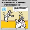 Cartoon: Ill-Treatment Old People in Euro (small) by cartoonharry tagged tough,gingerbread,old,europe,illtreatment,cartoon,cartoonist,cartoonharry,dutch,toonpool