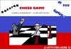 Cartoon: Kasparov versus Putin (small) by cartoonharry tagged russia,chess,century,politics,kasparov,putin