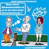 Cartoon: Keine Herausforderung (small) by cartoonharry tagged herausforderung