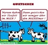 Cartoon: Kuh Lärm (small) by cartoonharry tagged kuh,lärm,milch,eimer,quietschen
