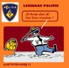 Cartoon: Lekkage (small) by cartoonharry tagged lekkage,nederland,holland,politie