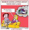 Cartoon: Loose-Lipped (small) by cartoonharry tagged looselipped,cartoonharry