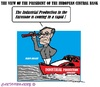 Cartoon: Mario Draghi (small) by cartoonharry tagged ecb,industrial,production,draghi,eurozone,view