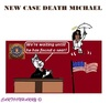 Cartoon: Michael Jackson (small) by cartoonharry tagged michael,jackson,case,court,losangeles,usa,murder,medicines,cartoons,cartoonists,cartoonharry,dutch,toonpool