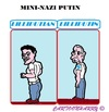 Cartoon: Mini Nazi (small) by cartoonharry tagged russia,krim,mini,nazi,putin,lilliputian,lilliputin