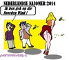 Cartoon: Nazomer (small) by cartoonharry tagged holland,germany,zomer,late,2014,wind,noorden