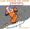 Cartoon: Not me !! (small) by cartoonharry tagged winter,snow,solo,ski,dutchies