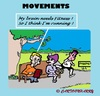 Cartoon: Parkbench Fitness (small) by cartoonharry tagged parkbench,fitness,brain