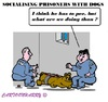 Cartoon: Prisoner Socialising (small) by cartoonharry tagged prison,prisoner,dogs,socialising