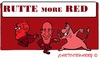 Cartoon: ROOD RODER ROODST (small) by cartoonharry tagged rutte,samsom,devil,red,thehague,thenetherlands,politics,misleading,cartoon,cartoonist,cartoonharry,dutch,toonpool