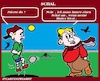 Cartoon: Schal (small) by cartoonharry tagged schal,cartoonharry