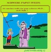 Cartoon: Schwerer Papst Pfeife (small) by cartoonharry tagged papst,cartoonharry