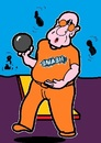 Cartoon: Smash Club (small) by cartoonharry tagged sport,bowling,club,smash