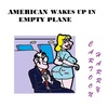 Cartoon: Stay Awake (small) by cartoonharry tagged plane,american,wakeup
