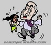 Cartoon: Strauss-Kahn (small) by cartoonharry tagged strausskahn,rehabilitation,imf,france,usa,maid,chambermaid,drugs,blackmoney,caricature,cartoon,cartoonist,cartoonharry,dutch,toonpool