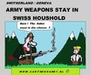 Cartoon: Swiss Army Weapons (small) by cartoonharry tagged switserland,swiss,weapons,army,houshold,cartoon,comic,comics,comix,artist,man,soldier,reservist,drawing,cartoonist,cartoonharry,dutch,toonpool,toonsup,facebook,hyves,linkedin,buurtlink,deviantart