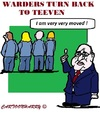 Cartoon: Teeven angry (small) by cartoonharry tagged teeven,minister,prisons,protest,bewaarders,cartoons,cartoonisten,cartoonharry,dutch,holland,toonpool,warders