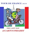 Cartoon: Tour de France (small) by cartoonharry tagged tourdefrance2019,cartoonharry