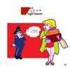 Cartoon: TrendyTwente in Holland (small) by cartoonharry tagged holland,trendytwente,fashion