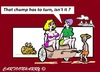 Cartoon: Turn Around (small) by cartoonharry tagged india,pakistan,afghanistan,cartoon,cartoonist,cartoonharry,girls,dutch,toonpool