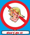 Cartoon: USA Elections (small) by cartoonharry tagged politics,elections,clinton,trump,usa