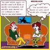 Cartoon: Weiblich (small) by cartoonharry tagged weiblich