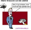 Cartoon: William (small) by cartoonharry tagged prins,william,england,speeltje