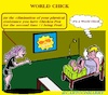 Cartoon: World Chick (small) by cartoonharry tagged flu,world,chick