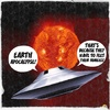 Cartoon: APOCALYPSE (small) by Vanessa tagged earth,apocalypse,overpopulation,natural,disasters,homosapiens,mankind