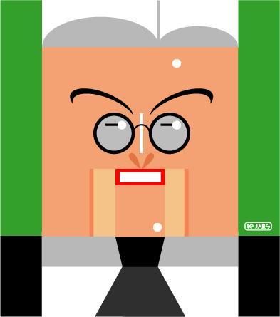 Cartoon: Frank-Walter Steinmeier (medium) by Hugh Jarse tagged frank,walter,steinmeier,politician,caricature