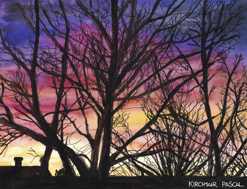 Cartoon: Abenddämmerung (medium) by Pascal Kirchmair tagged natur,crepuscule,abenddämmerung,dusk,twilight,anochecer,crepuscolo,aquarell,pascal,kirchmair,watercolour,silhouettes,dipinto,pintura,picture,painting,peinture,cuadro,illustration,quadro,natur,crepuscule,abenddämmerung,dusk,twilight,anochecer,crepuscolo,aquarell,pascal,kirchmair,watercolour,silhouettes,dipinto,pintura,picture,painting,peinture,cuadro,illustration,quadro