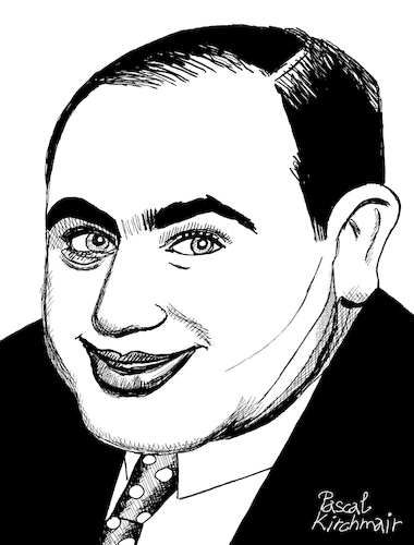 Cartoon: Al Capone II (medium) by Pascal Kirchmair tagged al,capone,pate,godfather,mobster,mafia,boss,crime,family,syndicate,mastermind,lord,usa,illustration,drawing,zeichnung,pascal,kirchmair,cartoon,caricature,karikatur,ilustracion,dibujo,desenho,ink,disegno,ilustracao,illustrazione,illustratie,dessin,de,presse,du,jour,art,of,the,day,tekening,teckning,cartum,vineta,comica,vignetta,caricatura,portrait,retrato,ritratto,portret,gangster,chicago,outfit,mob,prohibition,era,al,capone,pate,godfather,mobster,mafia,boss,crime,family,syndicate,mastermind,lord,usa,illustration,drawing,zeichnung,pascal,kirchmair,cartoon,caricature,karikatur,ilustracion,dibujo,desenho,ink,disegno,ilustracao,illustrazione,illustratie,dessin,de,presse,du,jour,art,of,the,day,tekening,teckning,cartum,vineta,comica,vignetta,caricatura,portrait,retrato,ritratto,portret,gangster,chicago,outfit,mob,prohibition,era