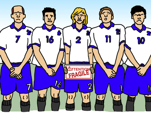 Cartoon: Free Kick (medium) by Pascal Kirchmair tagged handle,with,care,manipuler,avec,attention,fußball,boby,lapointe,mauer,wall,soccer,foot,mur,free,kick,freistoß,football,coup,franc,achtung,zerbrechlich,vorsicht,glas,caution,fragile