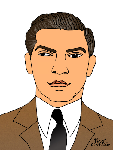 Cartoon: Lucky Luciano (medium) by Pascal Kirchmair tagged salvatore,lucania,pate,godfather,charles,lucky,luciano,mobster,mafia,boss,crime,family,syndicate,mastermind,lord,usa,illustration,drawing,zeichnung,pascal,kirchmair,cartoon,caricature,karikatur,ilustracion,dibujo,desenho,ink,disegno,ilustracao,illustrazione,illustratie,dessin,de,presse,du,jour,art,of,the,day,tekening,teckning,cartum,vineta,comica,vignetta,caricatura,portrait,retrato,ritratto,portret,gangster,genovese,salvatore,lucania,pate,godfather,charles,lucky,luciano,mobster,mafia,boss,crime,family,syndicate,mastermind,lord,usa,illustration,drawing,zeichnung,pascal,kirchmair,cartoon,caricature,karikatur,ilustracion,dibujo,desenho,ink,disegno,ilustracao,illustrazione,illustratie,dessin,de,presse,du,jour,art,of,the,day,tekening,teckning,cartum,vineta,comica,vignetta,caricatura,portrait,retrato,ritratto,portret,gangster,genovese