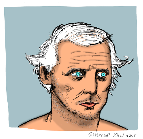 Cartoon: Max Ernst (medium) by Pascal Kirchmair tagged max,ernst,caricature,karikatur,cartoon,zeichnung,portrait,retrato,dibujo,desenho,dessin,drawing,illustration,disegno,ritratto,max,ernst,caricature,karikatur,cartoon,zeichnung,portrait,retrato,dibujo,desenho,dessin,drawing,illustration,disegno,ritratto