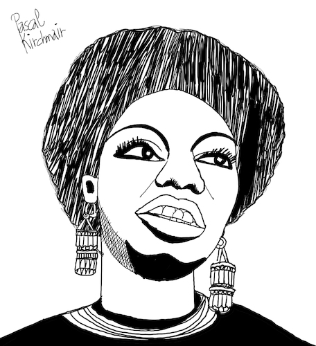 Cartoon: Nina Simone (medium) by Pascal Kirchmair tagged rnb,classical,bürgerrechtsbewegung,soul,eunice,kathleen,waymon,black,music,nina,simone,singer,songwriter,civil,rights,movement,jazz,rhythm,and,blues,folk,gospel,pop,cartoon,caricature,karikatur,ilustracion,illustration,pascal,kirchmair,dibujo,desenho,drawing,zeichnung,disegno,ilustracao,illustrazione,illustratie,dessin,de,presse,du,jour,art,of,the,day,tekening,teckning,cartum,vineta,comica,vignetta,caricatura,humor,humour,political,portrait,retrato,ritratto,portret,chan,porträt,artiste,artista,artist,usa,pianistin,pianist,pianista,tryon,north,carolina,carry,le,rouet,rnb,classical,bürgerrechtsbewegung,soul,eunice,kathleen,waymon,black,music,nina,simone,singer,songwriter,civil,rights,movement,jazz,rhythm,and,blues,folk,gospel,pop,cartoon,caricature,karikatur,ilustracion,illustration,pascal,kirchmair,dibujo,desenho,drawing,zeichnung,disegno,ilustracao,illustrazione,illustratie,dessin,de,presse,du,jour,art,of,the,day,tekening,teckning,cartum,vineta,comica,vignetta,caricatura,humor,humour,political,portrait,retrato,ritratto,portret,chan,porträt,artiste,artista,artist,usa,pianistin,pianist,pianista,tryon,north,carolina,carry,le,rouet