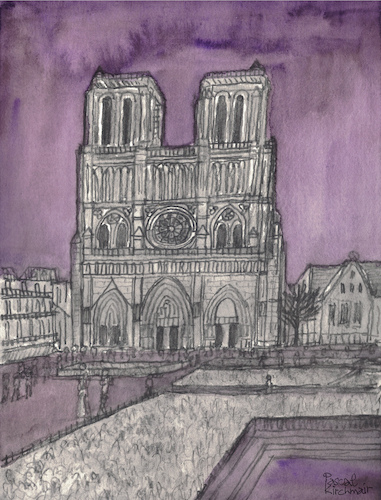 Cartoon: Notre-Dame de Paris (medium) by Pascal Kirchmair tagged aquarell,cathedral,cathedrale,kathedrale,cattedrale,gotico,eglise,iglesia,chiesa,burning,in,flammen,igreja,church,catedral,parigi,notre,dame,de,paris,watercolour,watercolor,illustration,ilustracion,ilustracao,pascal,kirchmair,dibuix,drawing,zeichnung,cartoon,caricature,karikatur,dibujo,desenho,ink,disegno,illustrazione,illustratie,dessin,du,jour,art,of,the,day,tekening,teckning,aquarelle,acquarello,acuarela,aguarela,aquarela,gothic,gotik,gothique,pencil,bleistift,bleistiftzeichnung,aquarell,cathedral,cathedrale,kathedrale,cattedrale,gotico,eglise,iglesia,chiesa,burning,in,flammen,igreja,church,catedral,parigi,notre,dame,de,paris,watercolour,watercolor,illustration,ilustracion,ilustracao,pascal,kirchmair,dibuix,drawing,zeichnung,cartoon,caricature,karikatur,dibujo,desenho,ink,disegno,illustrazione,illustratie,dessin,du,jour,art,of,the,day,tekening,teckning,aquarelle,acquarello,acuarela,aguarela,aquarela,gothic,gotik,gothique,pencil,bleistift,bleistiftzeichnung