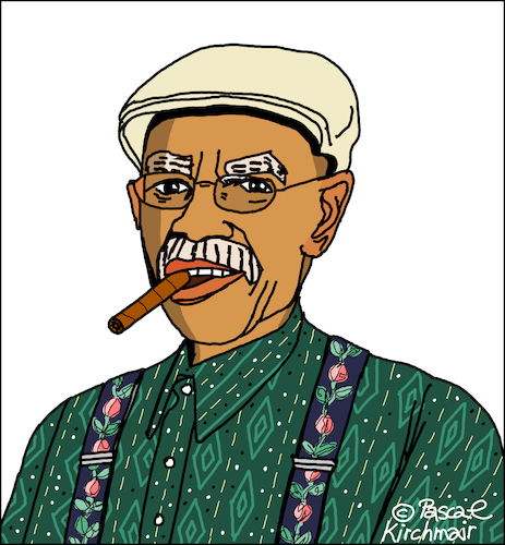 Cartoon: Pio Leyva (medium) by Pascal Kirchmair tagged pio,leyva,caricatura,karikatur,dibujo,retrato,portrait,desenho,drawing,cartoon,illustration,zeichnung,dessin,disegno,ritratto,ilustracion,ilustracao,cuba,libre,havana,habana,avana,la,havane,havanna,kuba,musician,musiker,musicien,autor,guaracha,el,mentiroso,wim,wenders,buena,vista,social,club,pio,leyva,caricatura,karikatur,dibujo,retrato,portrait,desenho,drawing,cartoon,illustration,zeichnung,dessin,disegno,ritratto,ilustracion,ilustracao,cuba,libre,havana,habana,avana,la,havane,havanna,kuba,musician,musiker,musicien,autor,guaracha,el,mentiroso,wim,wenders,buena,vista,social,club