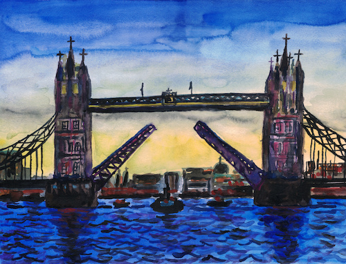 Cartoon: Tower Bridge (medium) by Pascal Kirchmair tagged tower,bridge,london,themse,thames,tamise,painting,peinture,tamigi,tamesis,tamisa,arte,pascal,kirchmair,illustration,drawing,zeichnung,ilustracion,dibujo,desenho,ink,disegno,ilustracao,illustrazione,illustratie,dessin,de,presse,du,jour,art,of,the,day,tekening,teckning,great,little,britain,england,united,kingdom,tower,bridge,london,themse,thames,tamise,painting,peinture,tamigi,tamesis,tamisa,arte,pascal,kirchmair,illustration,drawing,zeichnung,ilustracion,dibujo,desenho,ink,disegno,ilustracao,illustrazione,illustratie,dessin,de,presse,du,jour,art,of,the,day,tekening,teckning,great,little,britain,england,united,kingdom