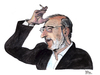Cartoon: Alvaro Siza Vieira (small) by Pascal Kirchmair tagged architekt,alvaro,siza,vieira,caricature,karikatur,portrait,architecte,zeichnung,drawing,aquarelle,bild