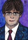 Cartoon: Carles Puigdemont (small) by Pascal Kirchmair tagged carles,puigdemont,porträt,dibuix,illustration,drawing,zeichnung,pascal,kirchmair,cartoon,caricature,karikatur,ilustracion,dibujo,desenho,ink,disegno,ilustracao,illustrazione,illustratie,dessin,de,presse,du,jour,art,of,the,day,tekening,teckning,cartum,vineta,comica,vignetta,caricatura,portrait,retrato,ritratto,portret,aquarelle,watercolor,watercolour,acquarello,acuarela,aguarela,aquarela,catalonia,catalogne,cataluna,catalunya,espana,spain,spanien,espagne,barcelona,madrid