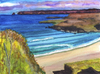Cartoon: Coast of Durness (small) by Pascal Kirchmair tagged coast,of,durness,aquarell,watercolour,highlands,scotland,schottland,ecosse,painting,gemälde