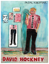 Cartoon: David Hockney (small) by Pascal Kirchmair tagged david,hockney,caricature,karikatur,cartoon,dibujo,disegno,aquarell,watercolour,portrait,retrato,ritratto,pascal,kirchmair,dessin,drawing,painting,peinture,desenho