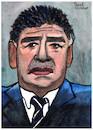 Cartoon: Diego Armando Maradona (small) by Pascal Kirchmair tagged diego,armando,maradona,caricature,caricatura,karikatur,portrait,retrato,drawing,dibujo,pascal,kirchmair,desenho,argentina,ritratto,disegno,zeichnung,aquarell,watercolour,watercolor,tekening,cartum,cartoon,illustration,ilustracao,ilustracion,illustrazione,dessin,illustratie,noodlers,ink