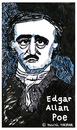 Cartoon: Edgar Allan Poe (small) by Pascal Kirchmair tagged schriftsteller poet autor author auteur writer edgar allan poe caricature cartoon karikatur portrait