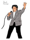 Cartoon: Elvis Presley (small) by Pascal Kirchmair tagged rockabilly fusion country musik rhythm and blues elvis aaron presley memphis tennessee januar january janvier 1935 in tupelo mississippi singer the king of rock roll pop cartoon caricature karikatur ilustracion illustration pascal kirchmair dibujo desenho drawing zeichnung disegno ilustracao illustrazione illustratie dessin de presse du jour art day tekening teckning cartum vineta comica vignetta caricatura humor humour portrait retrato ritratto portret porträt artiste artista artist usa cantautore music musique jail house love me tender nothing but hound dog no friend mine