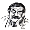Cartoon: Günter Grass II (small) by Pascal Kirchmair tagged günter,grass,schriftsteller,cartoon,caricature,portrait,karikatur