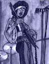 Cartoon: Jimi Hendrix (small) by Pascal Kirchmair tagged woodstock,jimi,hendrix,experience,great,britain,pop,rock,united,kingdom,london,singer,songwriter,composer,illustration,drawing,zeichnung,pascal,kirchmair,cartoon,caricature,karikatur,ilustracion,dibujo,desenho,ink,disegno,ilustracao,illustrazione,illustratie,dessin,de,presse,du,jour,art,of,the,day,tekening,teckning,cartum,vineta,comica,vignetta,caricatura,portrait,portret,retrato,ritratto,porträt,hey,joe,guitarist,usa,drugs,rocknroll