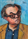 Cartoon: Max Frisch (small) by Pascal Kirchmair tagged max frisch karikatur cartoon portrait retrato dibujo drawing zeichnung pascal kirchmair caricature novelist autor schriftsteller playwright ilustracion illustration ilustracao illustratie illustrazione tekening teckning desenho disegno dessin ritratto homo faber andorra biedermann und die brandstifter stiller mein name sei gantenbein